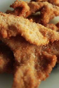Du poulet frit maison