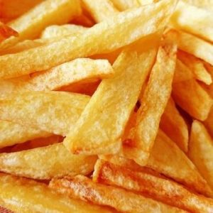 Des frites dorées et croustillantes
