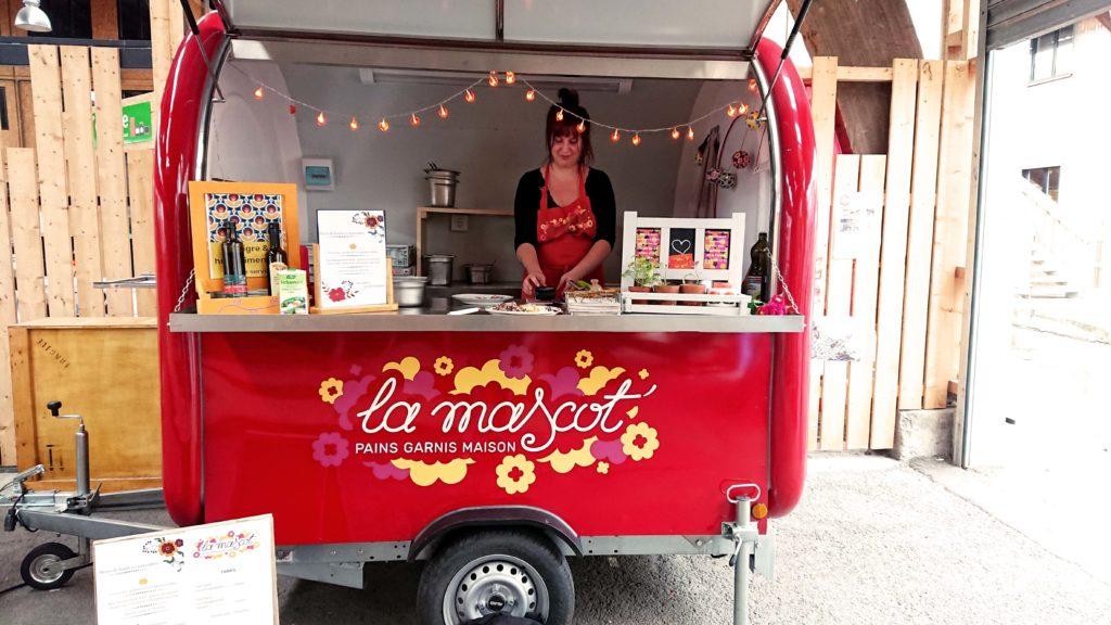 la remorque de julie du food truck la mascot