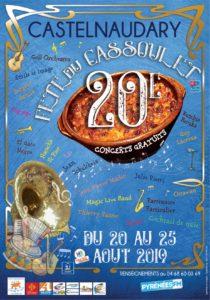 Affiche de la fête du cassoulet de castelnaudary