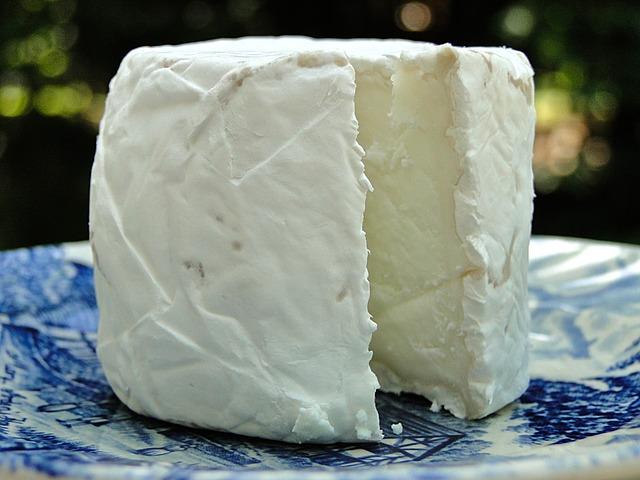 Un fromage de chèvre pour un burger