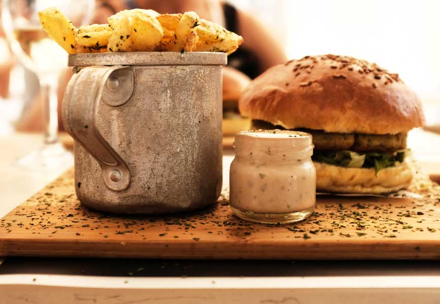 sauce au poivre pour burger